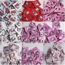 100pcs Hello Kitty Label