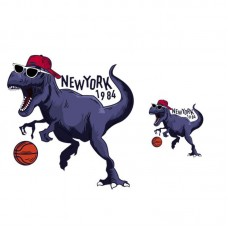 20pcs Basketball Dinosaur Vinyl Patch Iron On Appliques