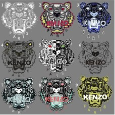 20pcs Kenzo Iron On Vinyl Patches For Clothing