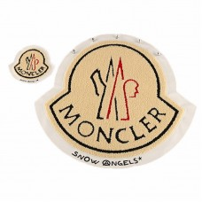 10pcs Moncler Patch Leather Towel Embroidered Appliques