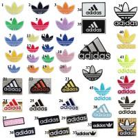 20pcs Adidas Logo Patches Iron On Appliques