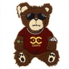 20pcs Bear Towel Embroidered Patch For Clothing Jacket Patchwork
