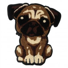 20pcs Cartoon Dog Towel Embroidered Patches For Hoodies