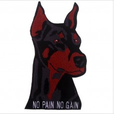 20pcs Dog Towel Embroidered Patch Jacket Patches