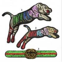 20pcs Gucci Tiger Glitter Patches Sequined Patchwork