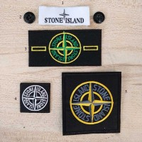 20pcs Stone Island Patch Label Button