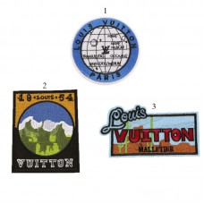 15pcs LOUIS VUITTON Embroidered Patch Iron On Appliques