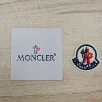 20pcs Moncler Patches For Clothing Iron On Patchwork
