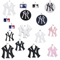 10pcs New York Yankees Iron On Patches Embroidered Appliques