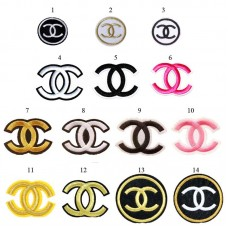 10pcs Chanel Iron On Patches parches bordados