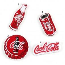 20pcs Coca Cola Brand Logo Patches Iron On Patchwork