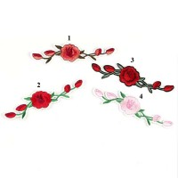 20pcs Gucci Flower Patches Iron On Embroidered Patch