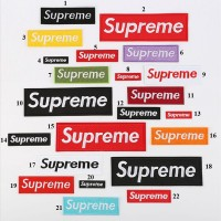 10pcs Supreme Embroidered Patch For Clothing