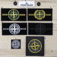 20pcs Stone Island Patch Label Button
