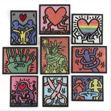 10pcs Statue Of Liberty Iron On Patches Embroidered Patchwork